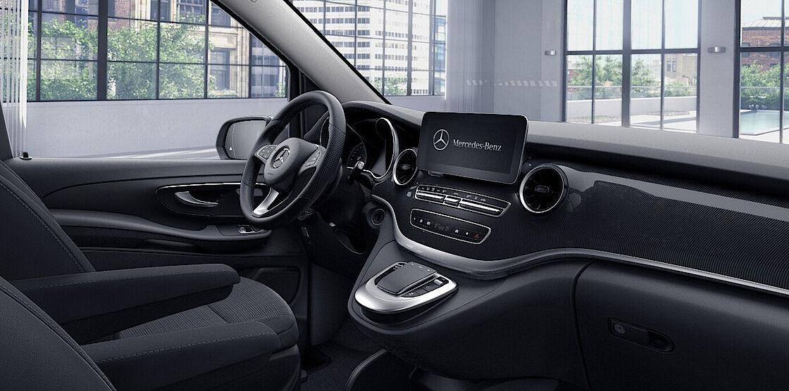 Mercedes-Benz EQV im Abo - Cockpit