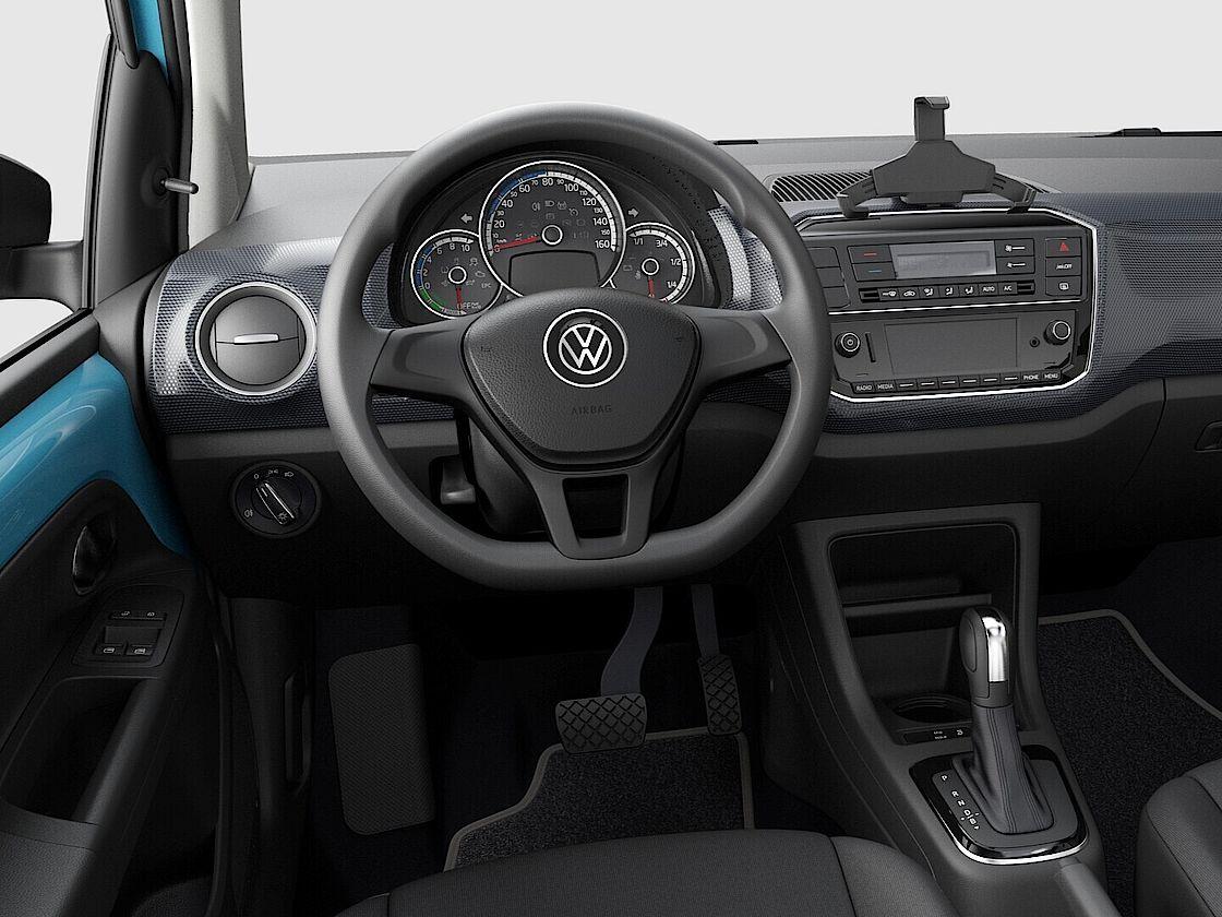 VW e-up Leasingangebot   Das Display