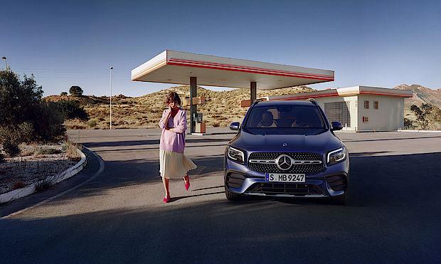 Mercedes-Benz GLB Frontansicht