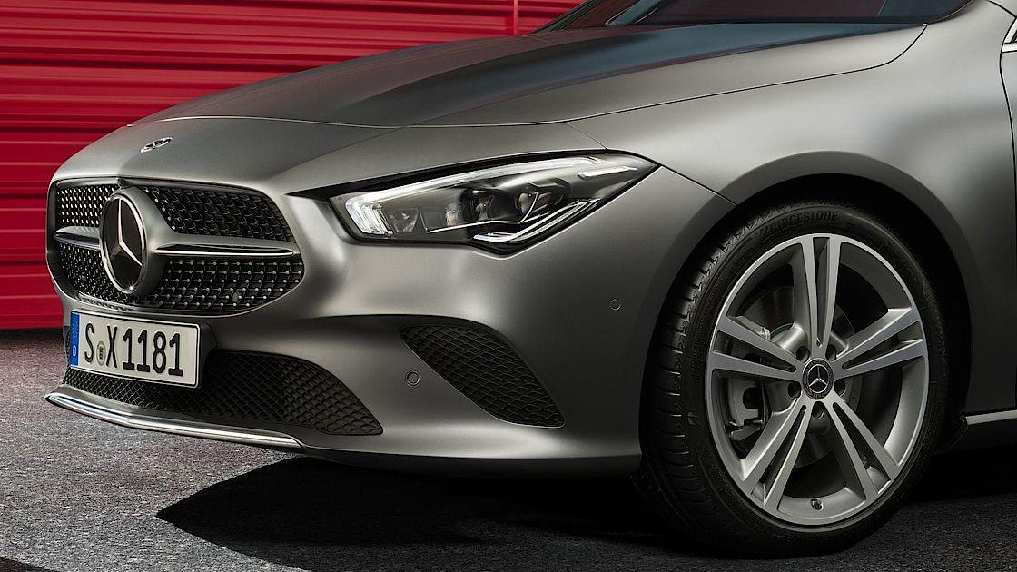Mercedes-Benz CLA mit Diamantgrill