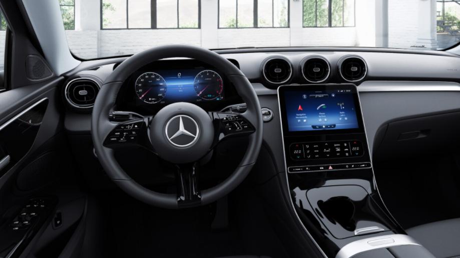 Mercedes-Benz C-Klasse Limousine Interieur