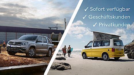 Lagerverkauf unserer VW Nutzfahrzeuge