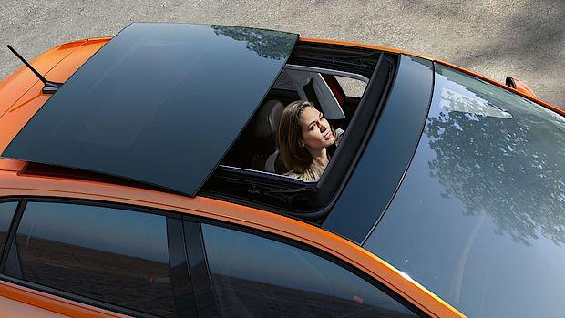 VW Polo mit Panoramadach