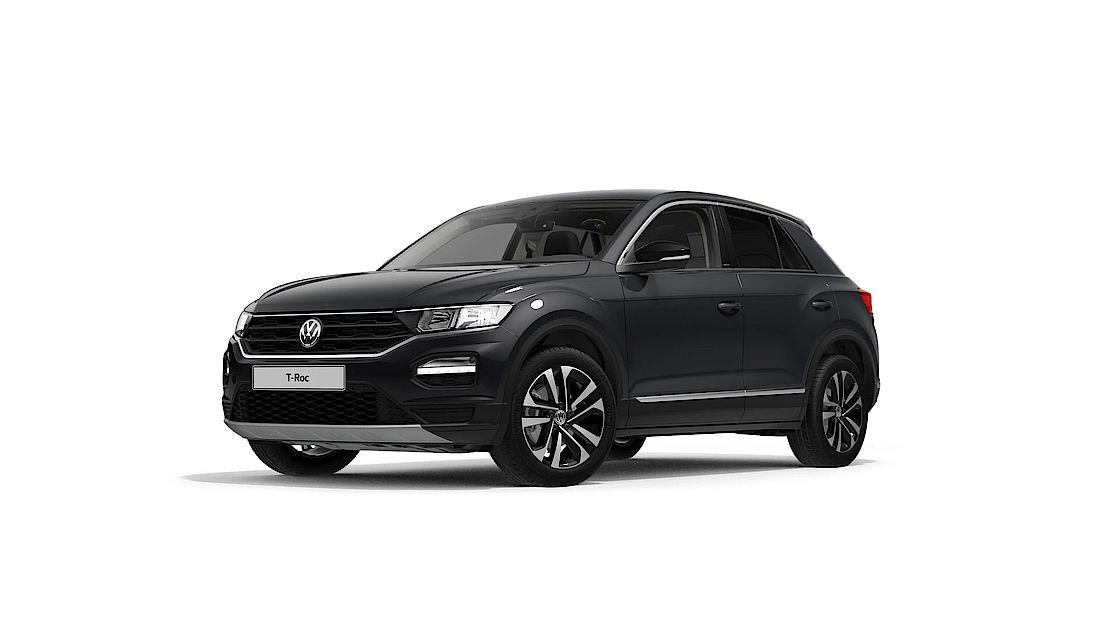 VW T-Roc UNITED Leasingangebot | Abbildung seitlich