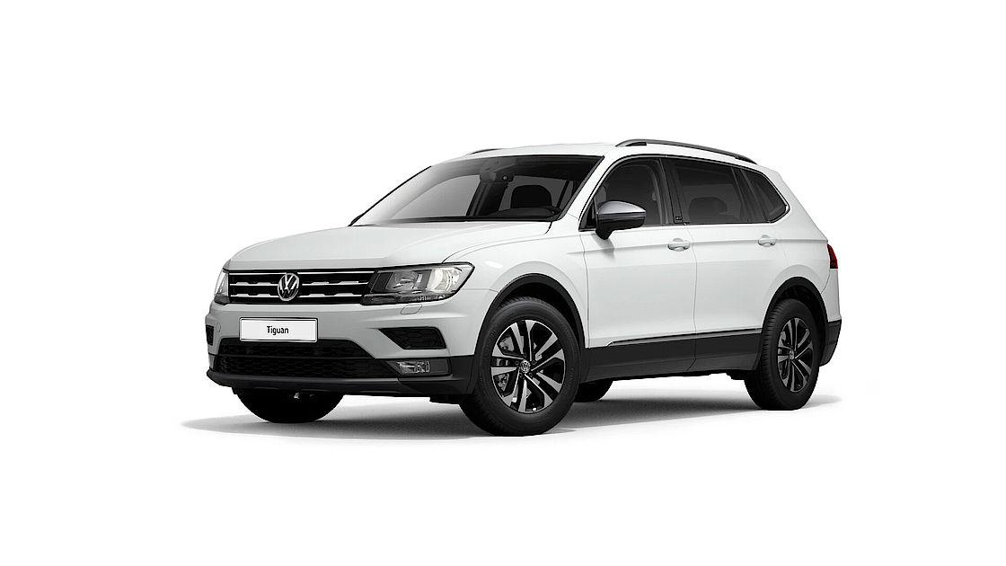 VW Tiguan Allspace UNITED Leasingangebot | Abbildung seitlich