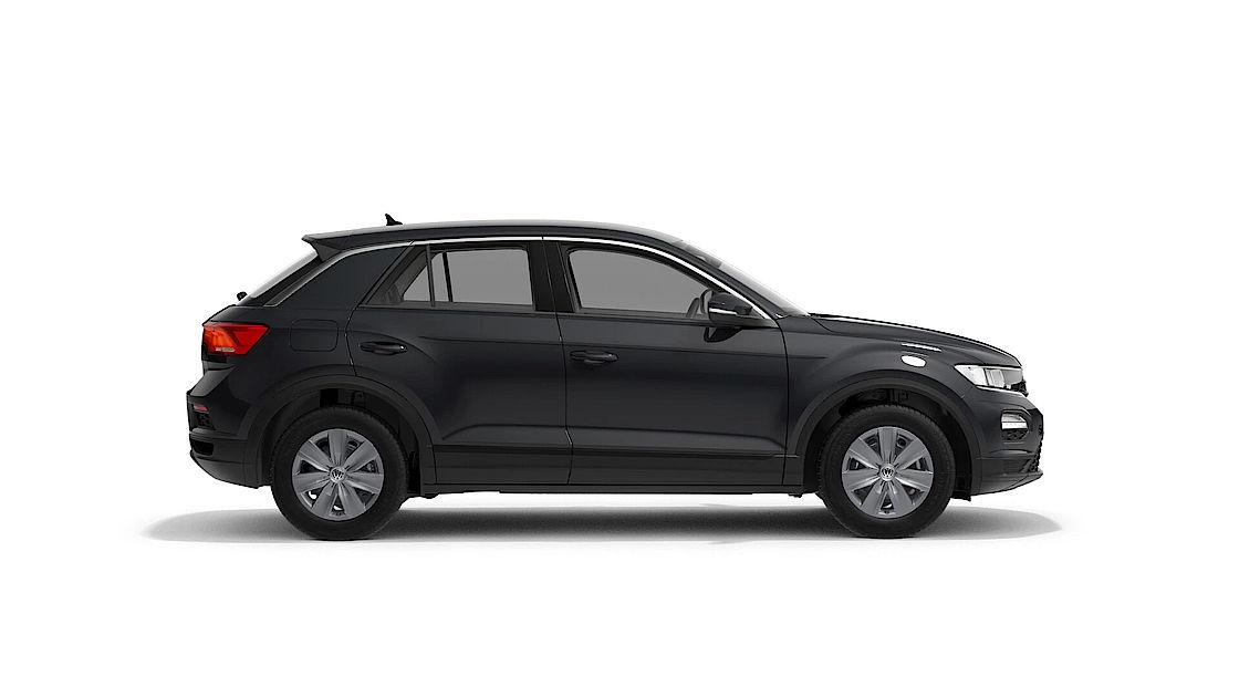 VW T-Roc günstig leasen   Seitenansicht