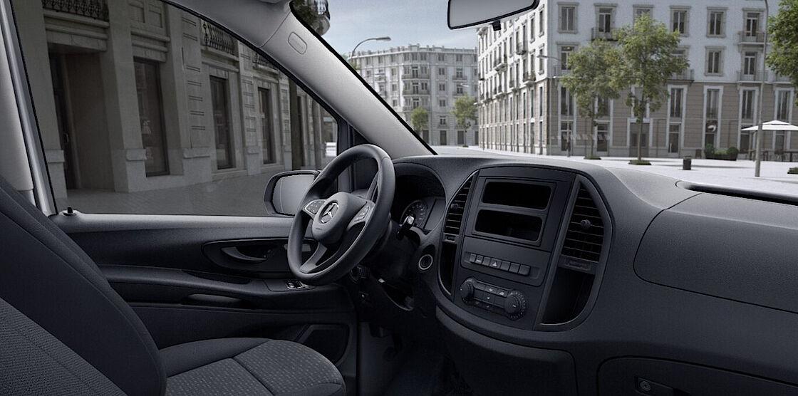 Mercedes-Benz eVito Tourer im Abo - Cockpit