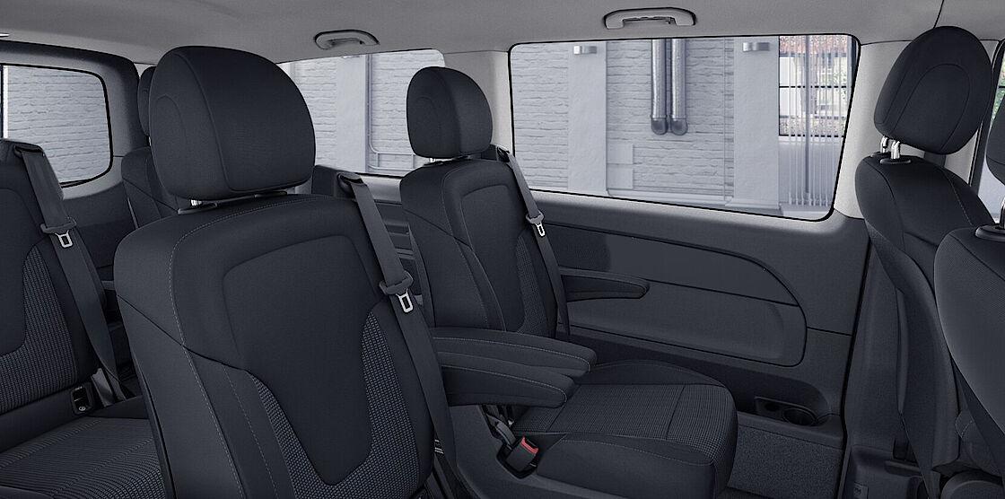 Mercedes-Benz EQV im Abo - Sitzplätze