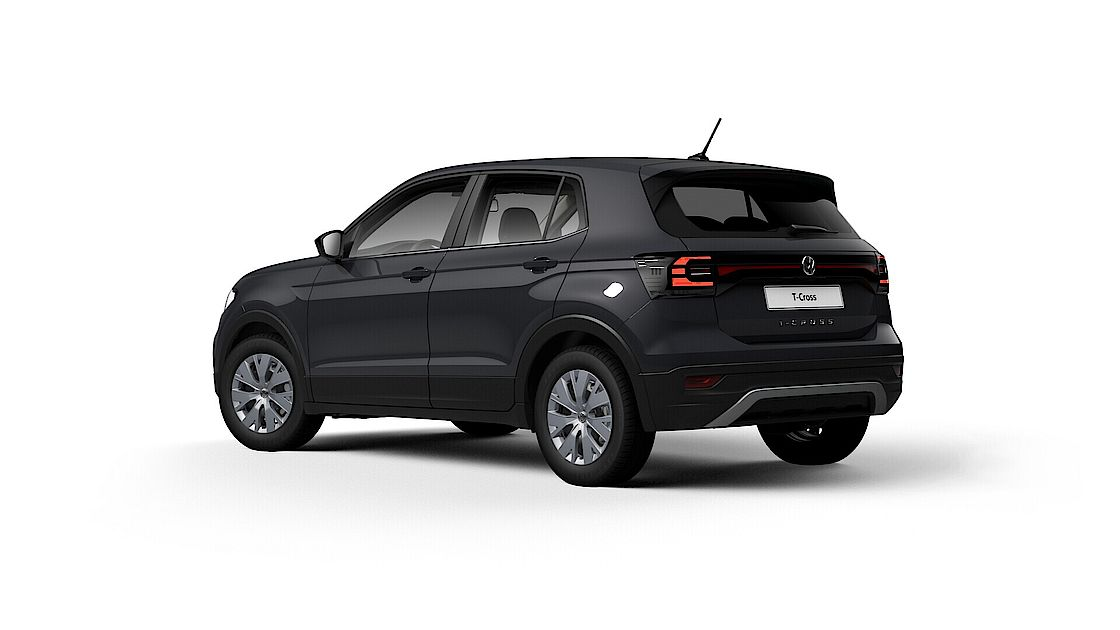 VW T-Cross Angebot bei Senger | Seite und Heckdes T-Cross