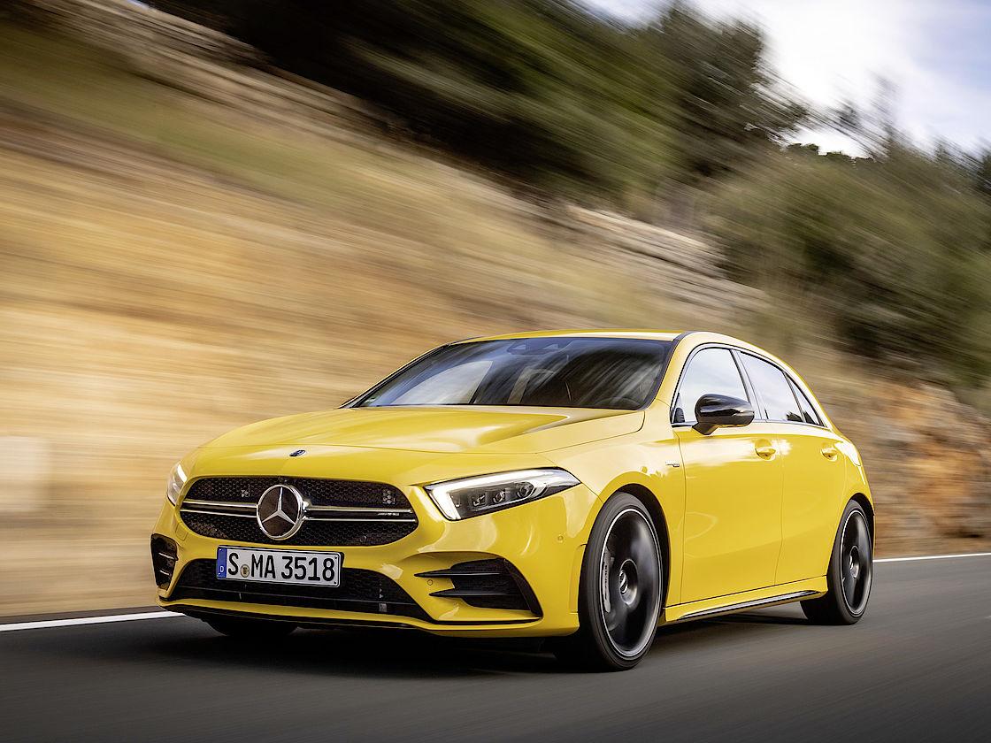Angebot für den Mercedes A 35 bei Senger