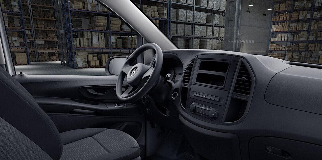 Mercedes-Benz eVito Kastenwagen Abo - Cockpit