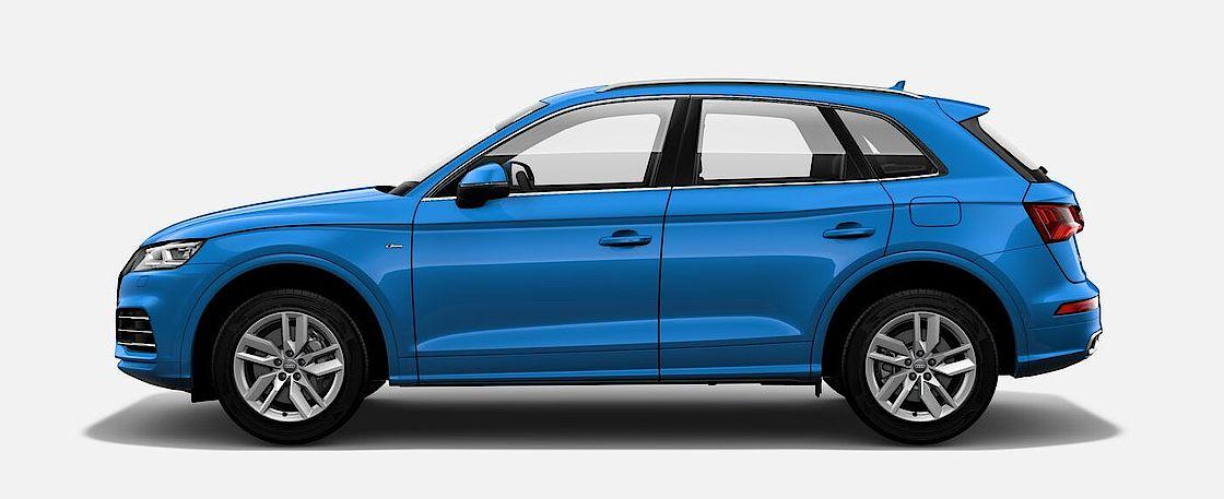 Der Audi Q5 55 TFSI e quattro bei Senger