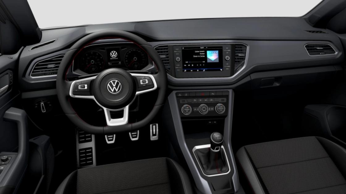 VW T-Roc Interieur
