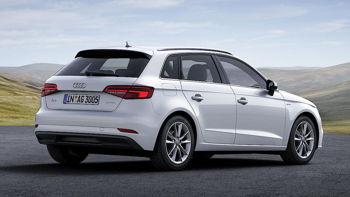 Der Audi A3 Sportback g-tron