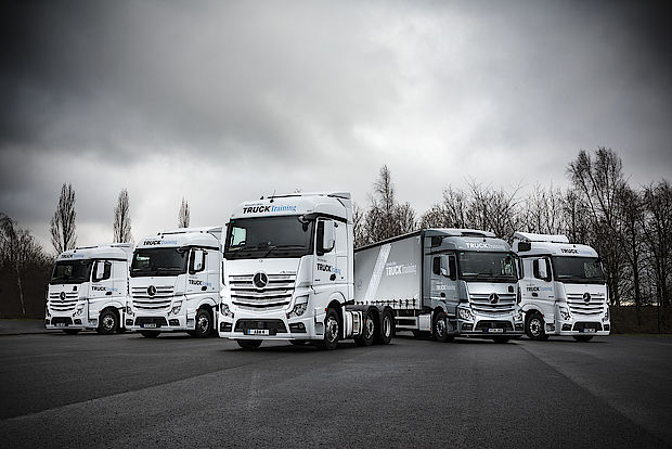 Mercedes Benz Trucks Training