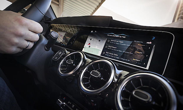 MBUX Infotainment in modernen Mercedes Modellen