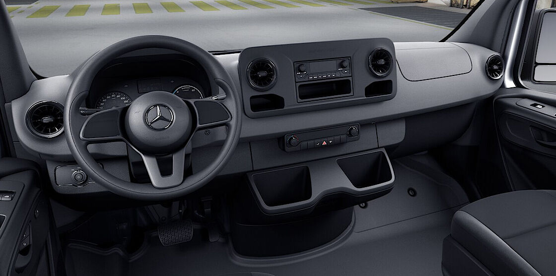 Mercedes-Benz eSprinter Cockpit