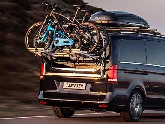 fahrradtr ger f r die mercedes benz v klasse auto senger. Black Bedroom Furniture Sets. Home Design Ideas