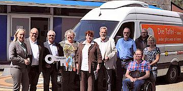 Sprinter Kühlfahrzeug Auslieferung an Lingener Tafel