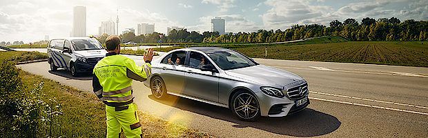 Unfallhilfe Mercedes-Benz