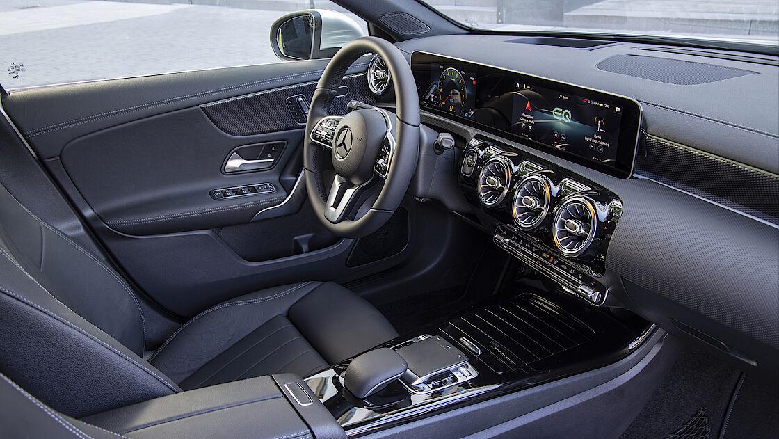 Interieur der Plug-in-Hybride von Mercedes