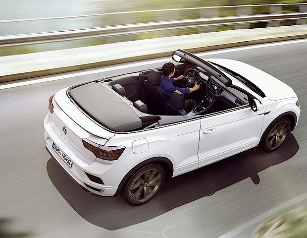 Jetzt neu: das VW T-Roc Cabriole