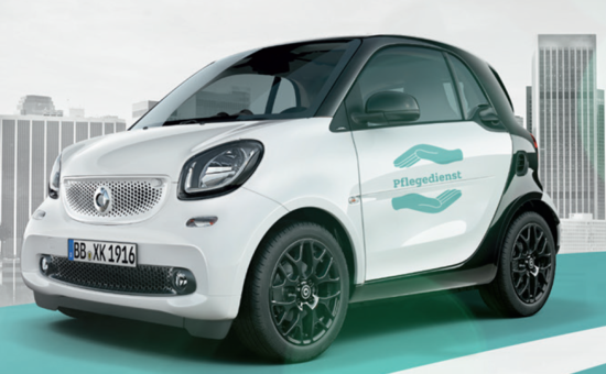 smart fortwo Pflegedienst