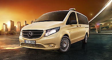 "Neues Sondermodell: Vito und V-Klasse als ""Das Taxi"""