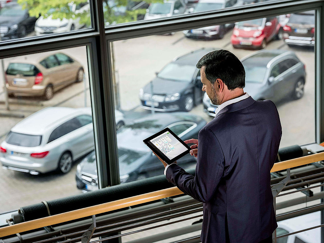 Mercedes-Benz connect business bei Senger