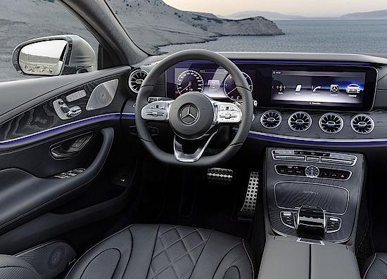 Mercedes-Benz CLS Ambientebeleuchtung
