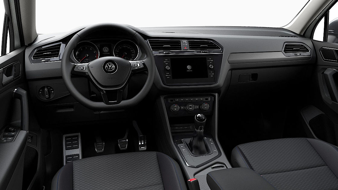 VW Tiguan Allspace UNITED Leasingangebot | Abbildung Cockpit