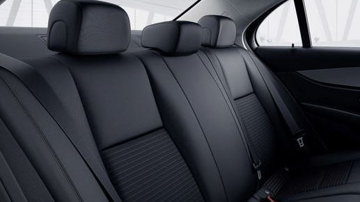 Mercedes-Benz GLC Interieur Rücksitze