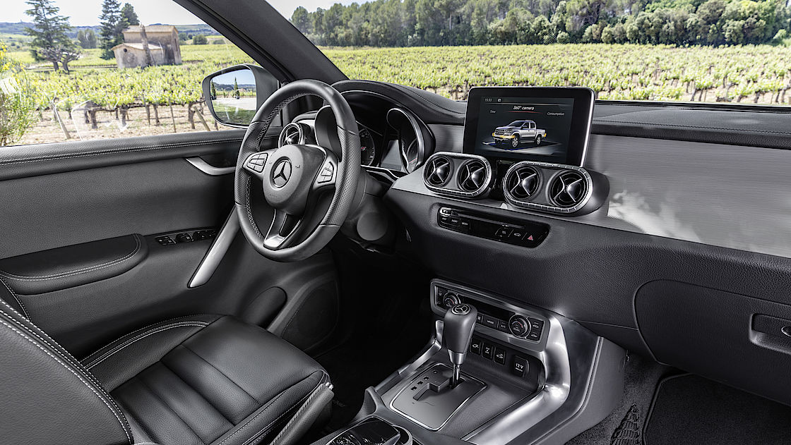 Die X-Klasse, der Premium-Pickup von Mercedes-Benz   Auto Senger