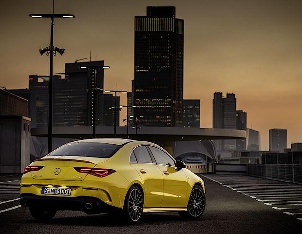 Neues Modell in der AMG-Welt: der Mercedes-AMG CLA 35 4MATIC