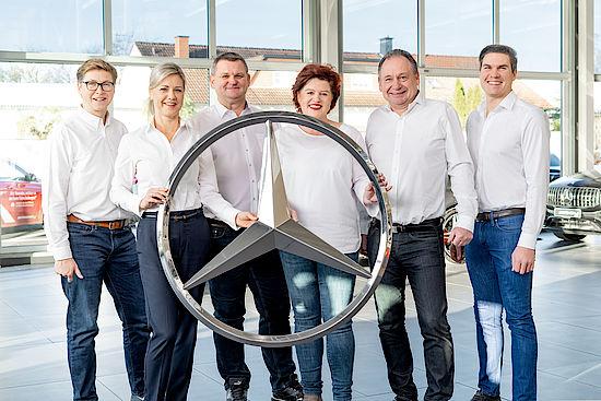 Servive Team im Autohaus Senger in Hamm