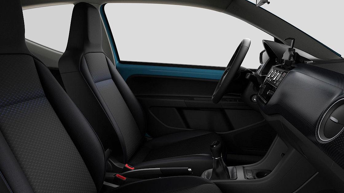 VW up! UNITED Leasingangebot | Abbildung Sitze