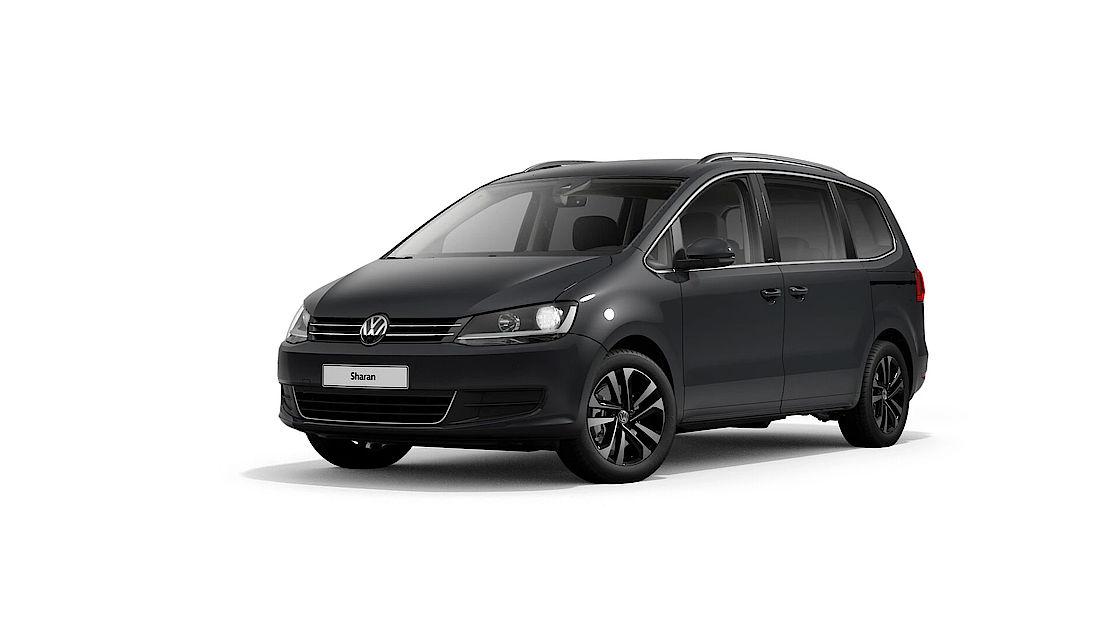 VW Sharan UNITED Leasingangebot | Abbildung seitlich