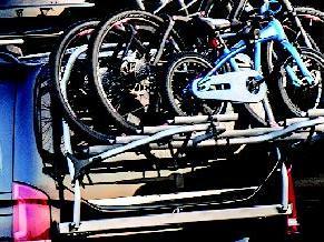 Fahrradträger für die Heckklappe der Mercedes-Benz V-Klasse
