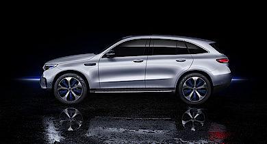 Mercedes-Benz EQC - ab Mitte 2019 bei Senger