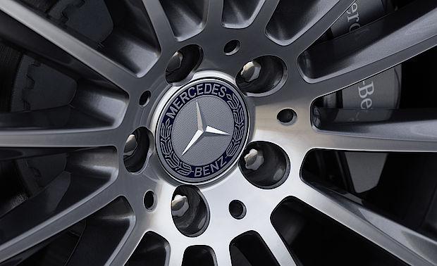 Felge der Mercedes E-Klasse