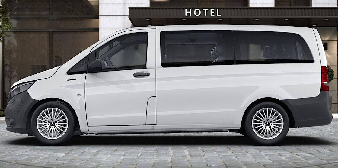 Mercedes-Benz eVito Tourer im Abo - Exterieur