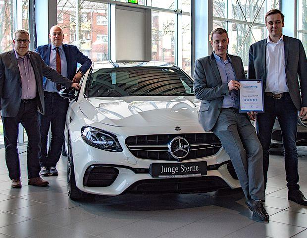 Autoscout Auszeichnung: Verkauf GW Mercedes-Benz in Rheine
