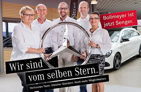 Unser Mercedes-Benz Verkauf und Service-Team in Bünde