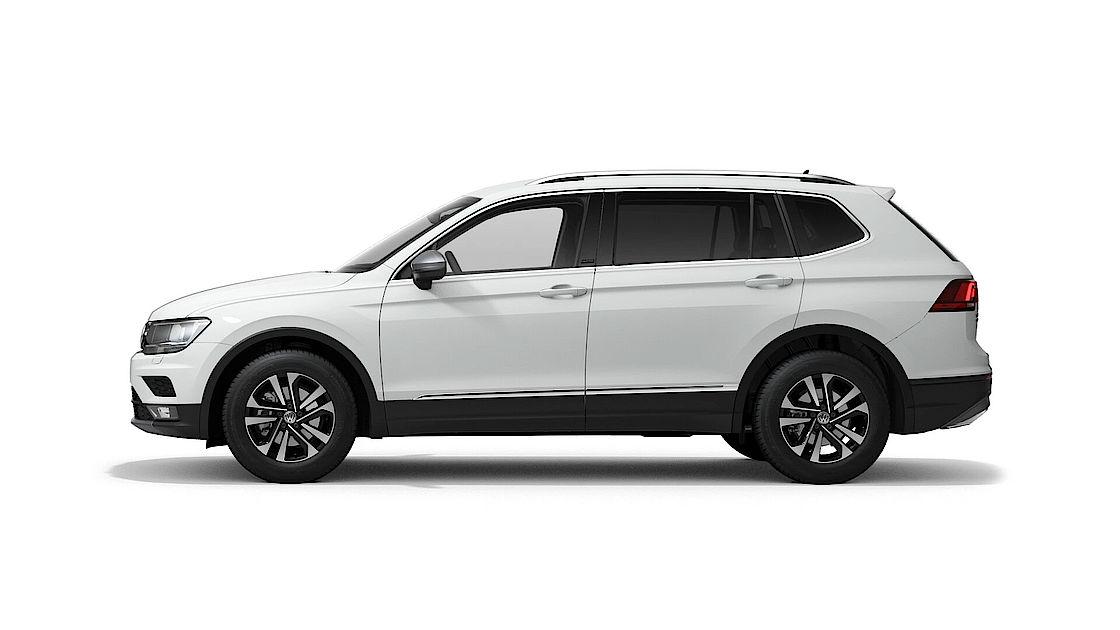 VW Tiguan Allspace UNITED Leasingangebot | Abbildung Profil