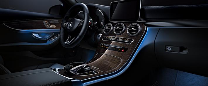 C klasse von mercedes benz die neue generation auto senger for Interieur mercedes c klasse