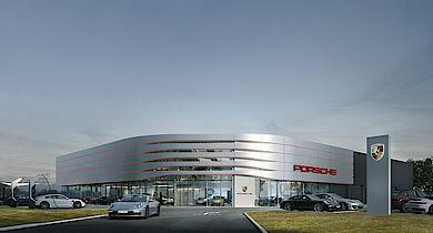 Neubau Porsche Zentrum Lüneburg