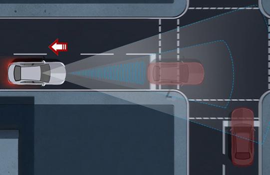 Aktiver Bremsassistenz von Mercedes-Benz