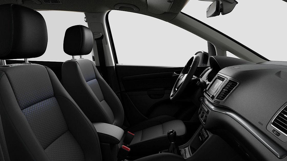 VW Sharan UNITED Leasingangebot | Abbildung Sitze