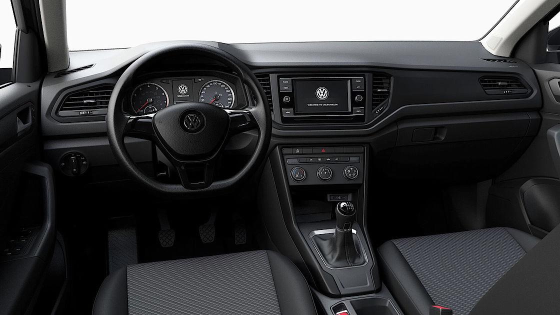 VW T-Roc günstig leasen   Cockpit