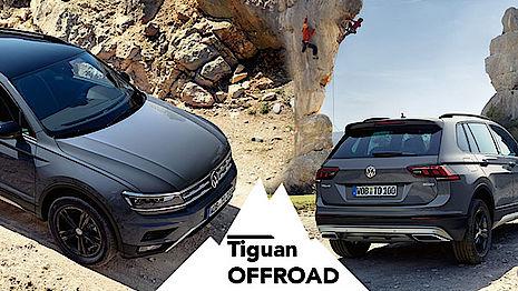 VW Tiguan Offroad bei Senger